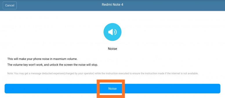 Localizar dispositivo Xiaomi